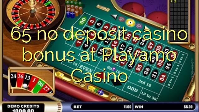 playamo casino no deposit bonus codes