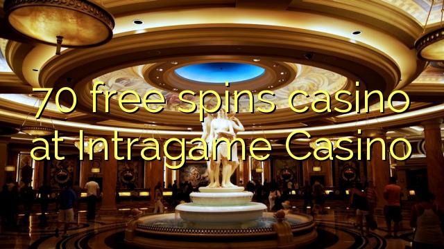 70 gratis spins kasino på Intragame Casino