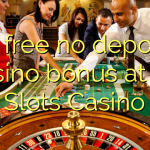 75 free no deposit casino bonus at All Slots Casino
