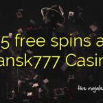 75 free spins at Dansk777 Casino