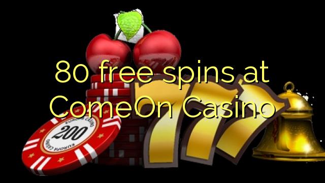 comeon casino 30 free spins