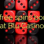 80 free spins bonus at Blu Casino
