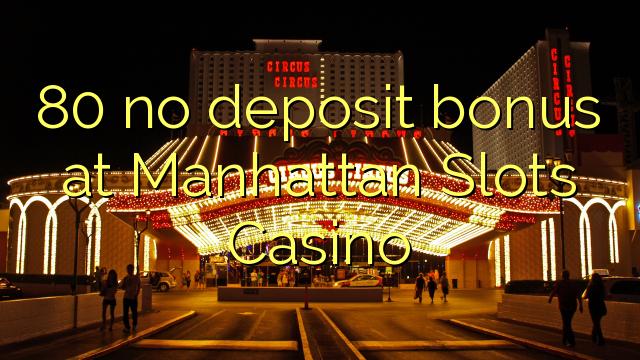 Manhattan slots no deposit bonus codes 2018