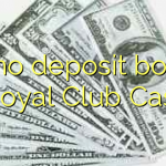 80 no deposit bonus at Royal Club Casino