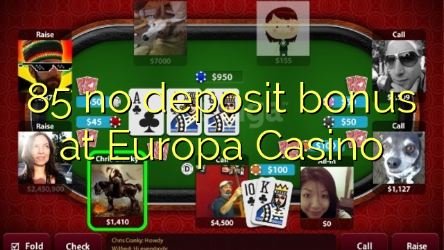 no deposit bonus europa casino