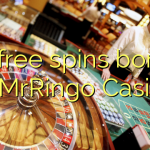 95 free spins bonus at MrRingo Casino