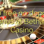 100 free no deposit bonus at Bethard Casino