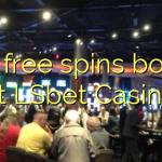 100 free spins bonus at LSbet Casino