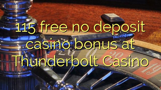 thunderbolt casino no deposit codes