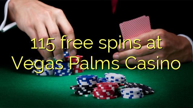 50 free spins at vegas palms casino