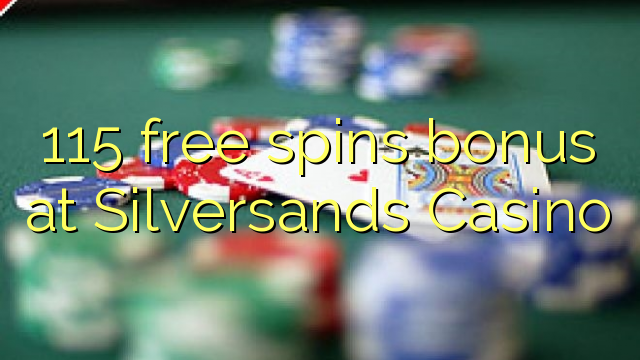 silversands online casino free spin games
