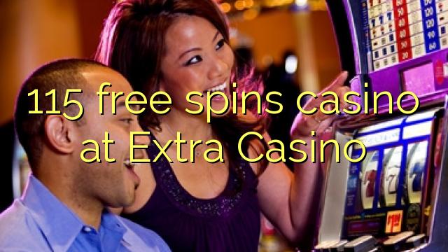 115 spins bébas kasino di Kasino tambahan