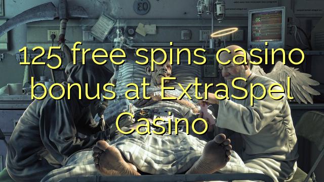 125 pulsuz ExtraSpel Casino casino bonus spins