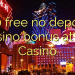 130 free no deposit casino bonus atVal Casino