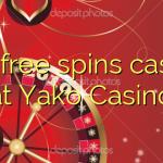 135 free spins casino at Yako Casino