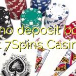 150 no deposit bonus at 7Spins Casino