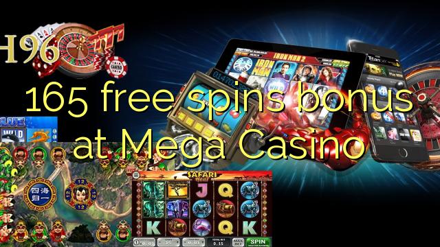mega casino free spins no deposit