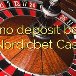 165 no deposit bonus at Nordicbet Casino