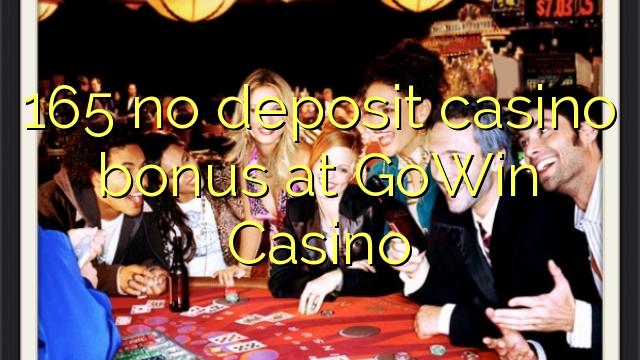 165 no deposit casino bonus at GoWin Casino