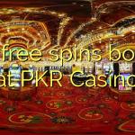 175 free spins bonus at PKR Casino