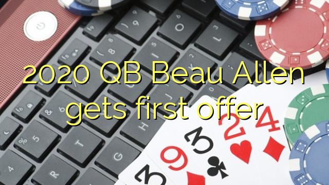 2020 QB Beau Allen fær fyrsta tilboði