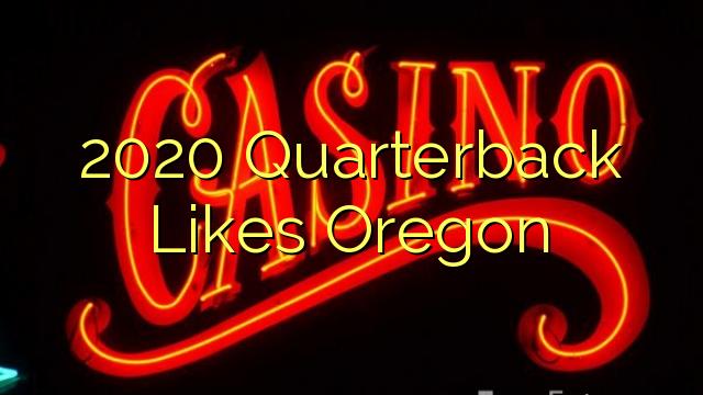 2020 quarterback Favoritos Oregon
