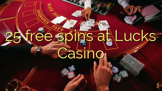 25 free spins at Lucks Casino