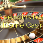 25 free spins bonus at IGame Casino