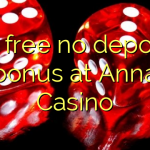 30 free no deposit bonus at Anna Casino