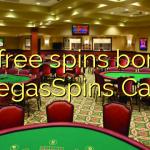 30 free spins bonus at VegasSpins Casino