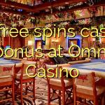 40 free spins casino bonus at Omni Casino