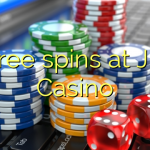 45 free spins at JEFE Casino