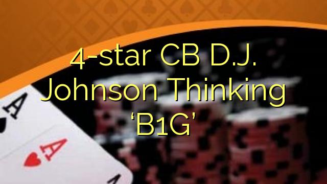 4-star CB D.J. Johnson Thinking 'B1G'
