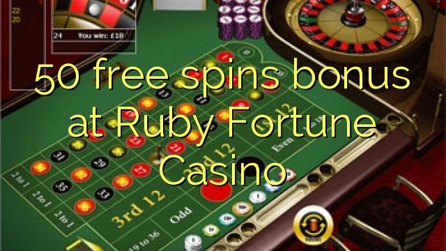 bonus codes for ruby fortune casino