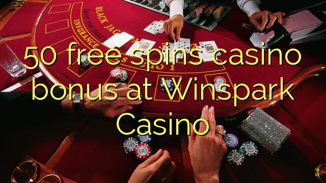 50 free spins casino bonus at Winspark Casino