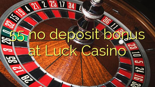 casino luck no deposit bonus