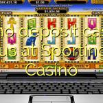60 no deposit casino bonus at Sportingbet Casino