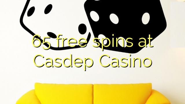 Bezplatné točenia 65 v kasíne Casdep