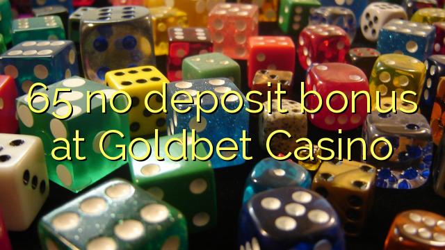 Goldbet Casino 65 heç bir depozit bonus