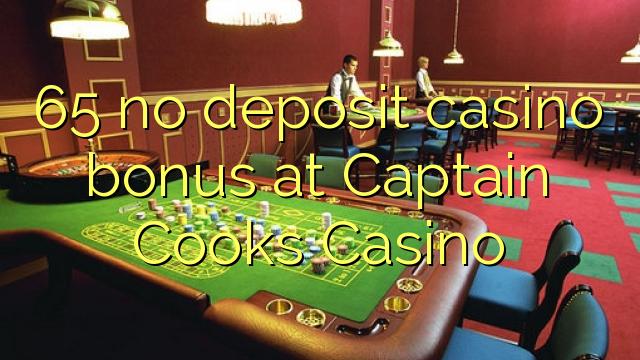 65 mingit deposiiti kasiino bonus at Captain Kokad Casino
