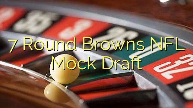 7 Round Browns NFL Mock Draft