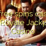 70 free spins casino at Royale Jackpot Casino
