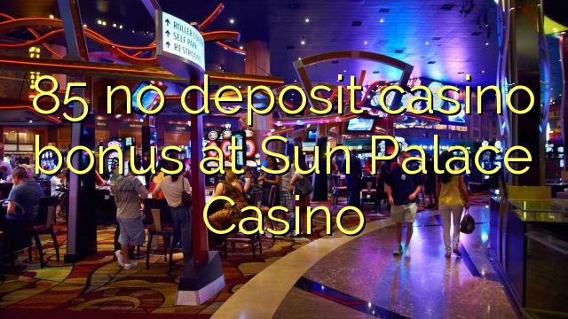 no deposit bonus code sun palace casino