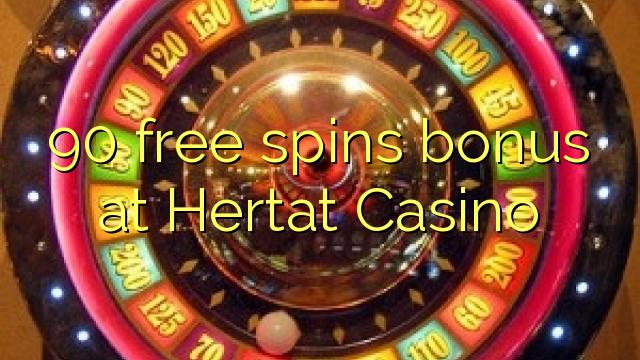 Hertat Casino இல் 90 இலவசமாக ஸ்பைஸ் போனஸ்