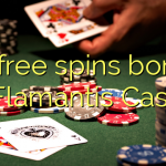 95 free spins bonus at Flamantis Casino