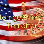 Alston gets first Big Ten offer