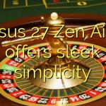 Asus 27″ Zen AiO offers sleek simplicity