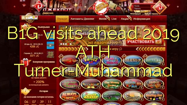 B1G berkunjung ke depan 2019 ATH Turner-Muhammad