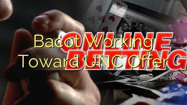 Bacot arbejder hen imod UNC tilbud