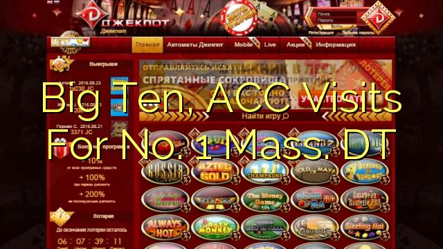 Big Ten, ACC besök för No. 1 Mass. DT